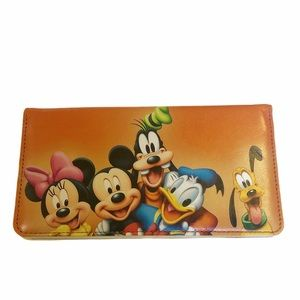 Disney Mickey Mouse Clubhouse Orange Wallet